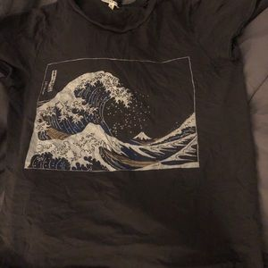 urban outfitters wave tee